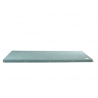 Matelas de sol coton bio St Barth magic green