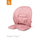 Coussin chaise haute Steps Rose