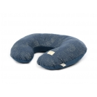 Coussin d'allaitement Sunrise Gold bubble night blue
