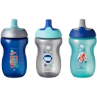 Lot de 3 tasses Sporty 12m+ 300 ml Garçon