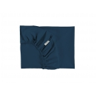 Draps housse coton bio Tibet 70 x 140 cm Night blue