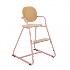 Chaise Haute Tibu Rose