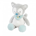 Mini peluche Tiloo le Loup Tim & Tiloo