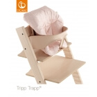 Coussin chaise Tripp Trapp Mini Pois rose abeille