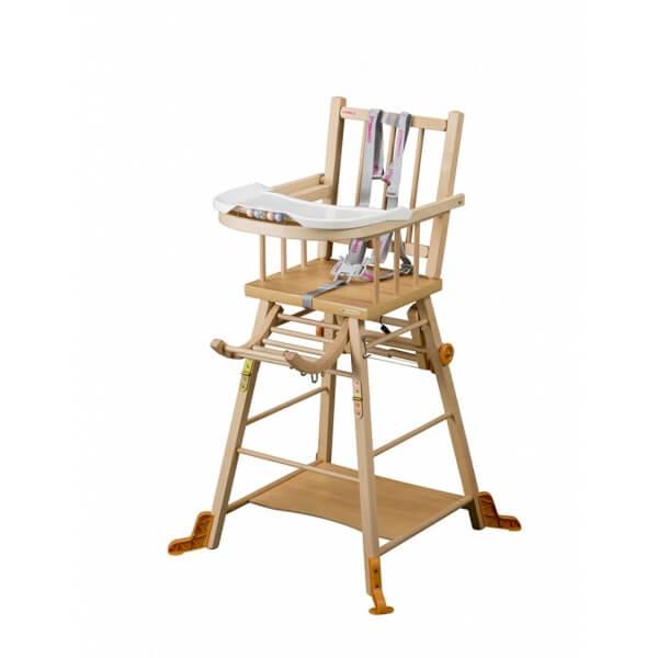 chaise haute bébé Marcel de Combelle