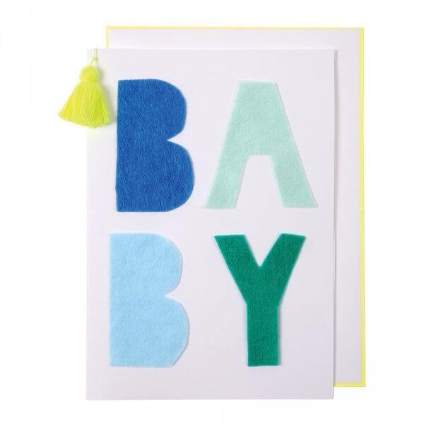 Meri meri carte b b bleu made in b b - Carte grise 3x sans frais ...