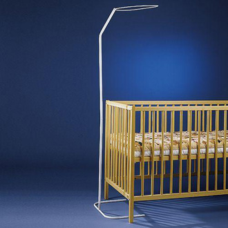 looping fl che de lit poser support pour ciel de lit made in b b. Black Bedroom Furniture Sets. Home Design Ideas