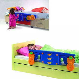 Babysun barri re de lit sleep safe made in b b - Barriere de lit but ...