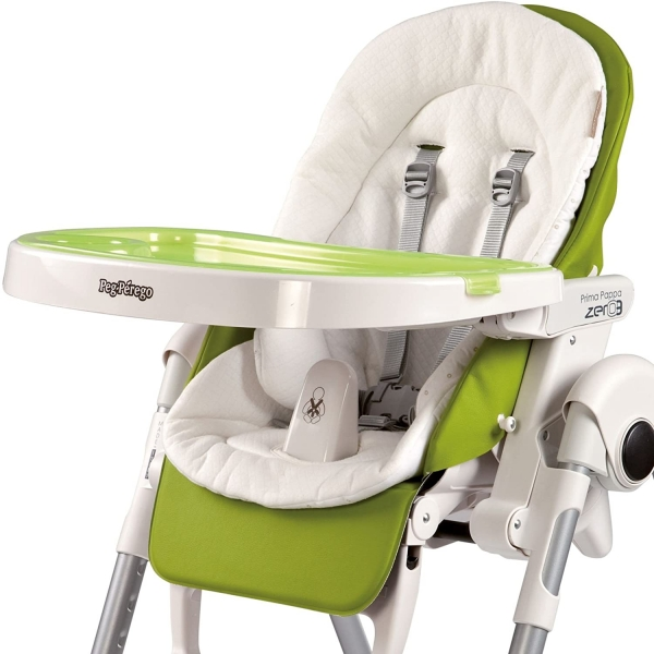 Peg Perego Coussin chaise haute Blanc - Made In Bébé
