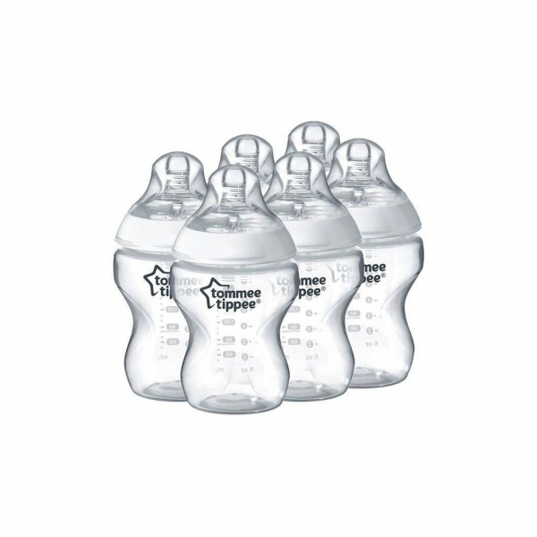 Lot de 6 biberons Closer to Nature 260ml