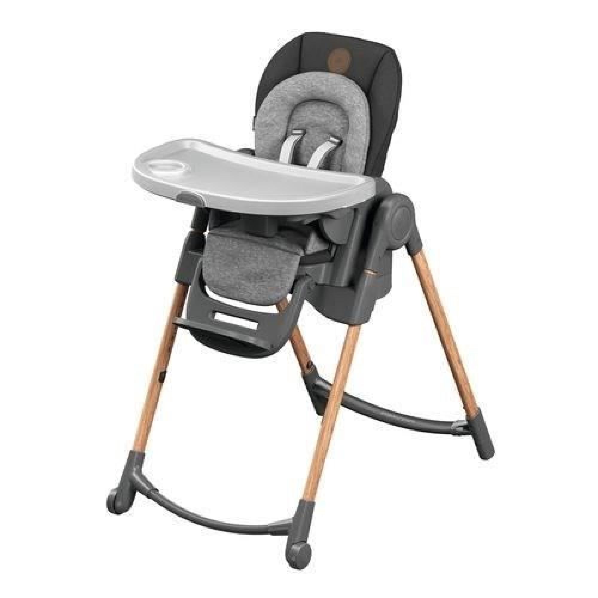 Bebe Confort Chaise Haute Minla Essential Graphite Made In Bebe