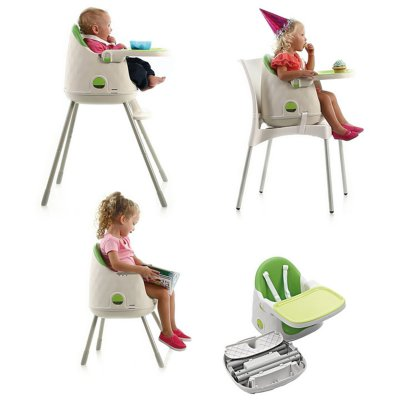 Baby to love chaise haute multi dine rouge made in b b for Baby to love chaise nomade
