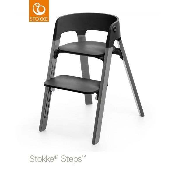 stokke chaise haute b b tripp trapp brume made in b b. Black Bedroom Furniture Sets. Home Design Ideas