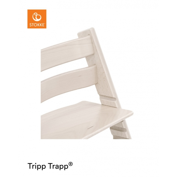 stokke chaise haute tripp trapp blanchi made in b b. Black Bedroom Furniture Sets. Home Design Ideas