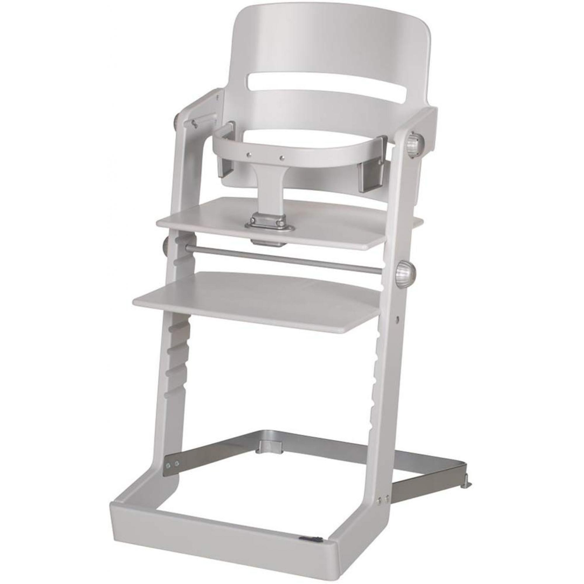 Chaise haute évolutive Tamino grise claire