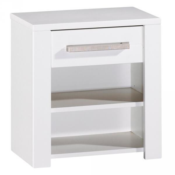 sauthon meubles table de chevet 1 tiroir deauville made in b b. Black Bedroom Furniture Sets. Home Design Ideas