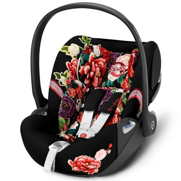 Siège auto CLOUD Z I-Size - Collection Spring Blossom black