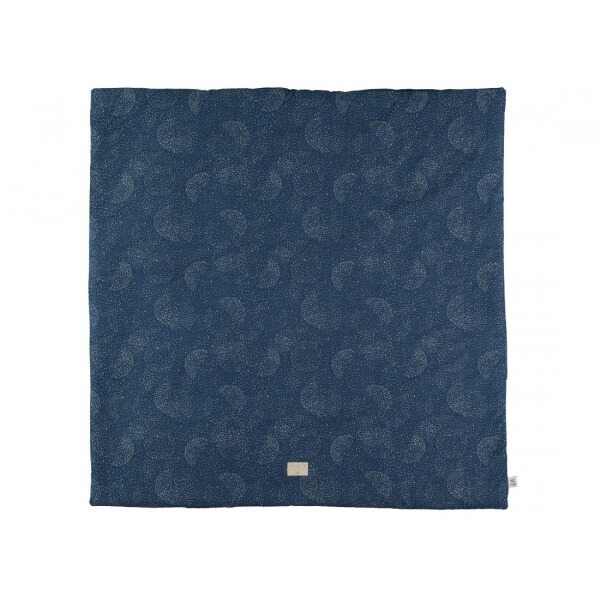 Tapis d'éveil Colorado 100 x 100 Bubble night blue