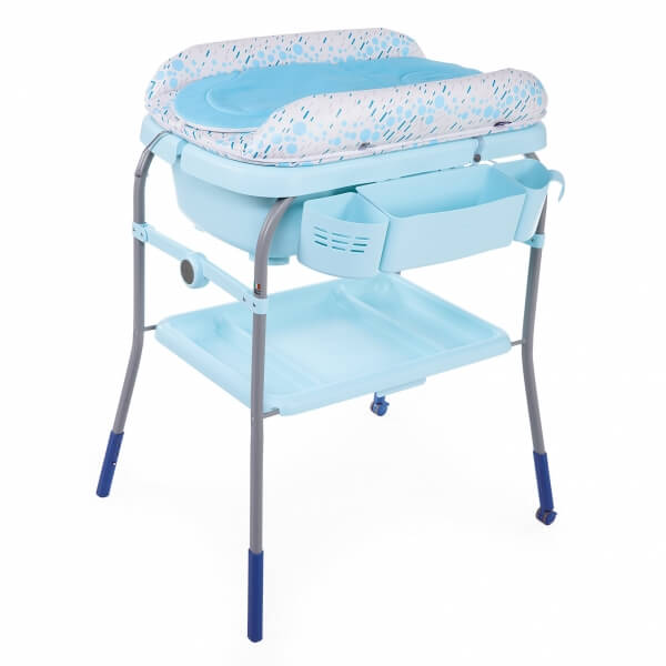 Chicco Table A Langer Avec Baignoire Cuddle Bubble Ocean Made In Bebe
