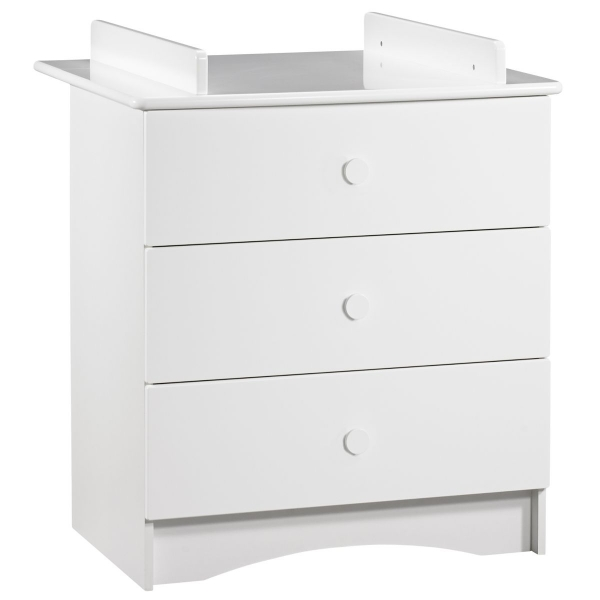 Commode 3 tiroirs + plan à langer Basic
