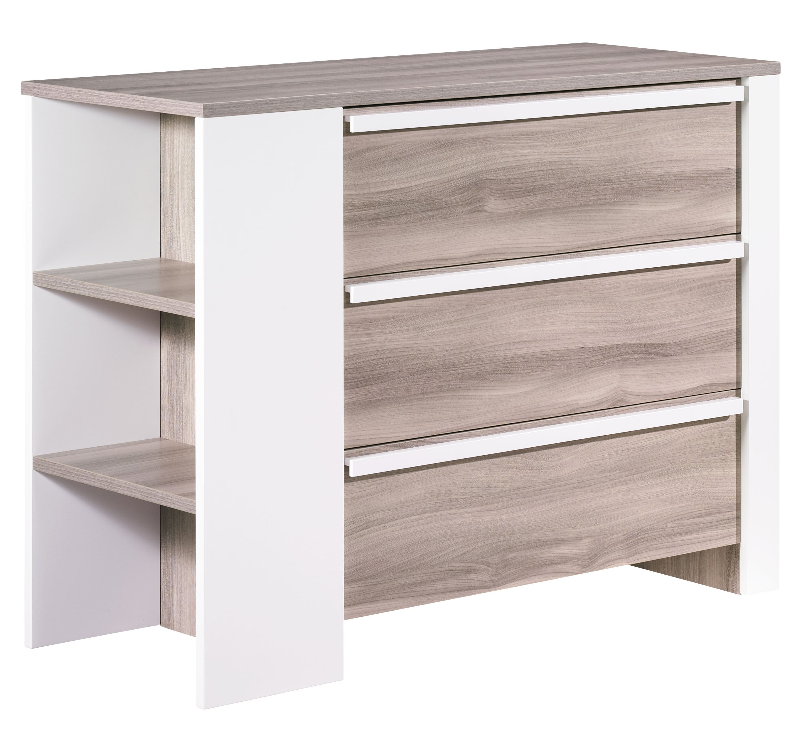 Commode Commode TiroirsÉtagère 3 3 Maiko DIE2WHbe9Y