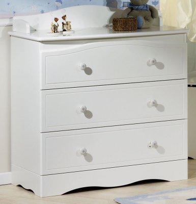 sauthon commode 3 tiroirs folio blanc made in b b. Black Bedroom Furniture Sets. Home Design Ideas