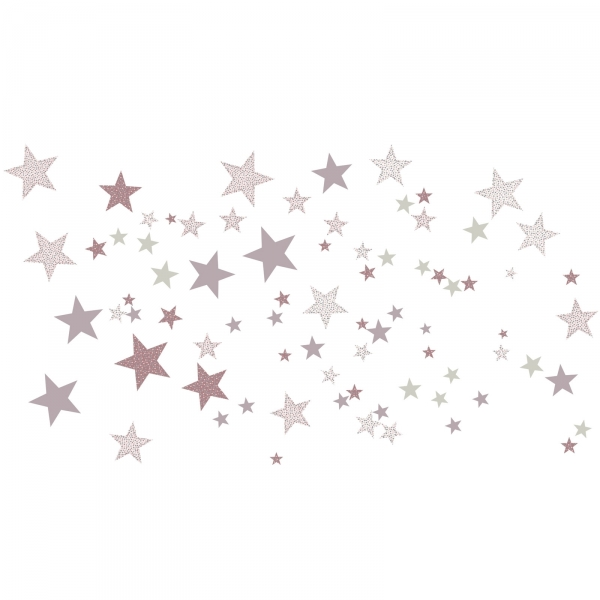 Stickers autocollants Constellation Rose