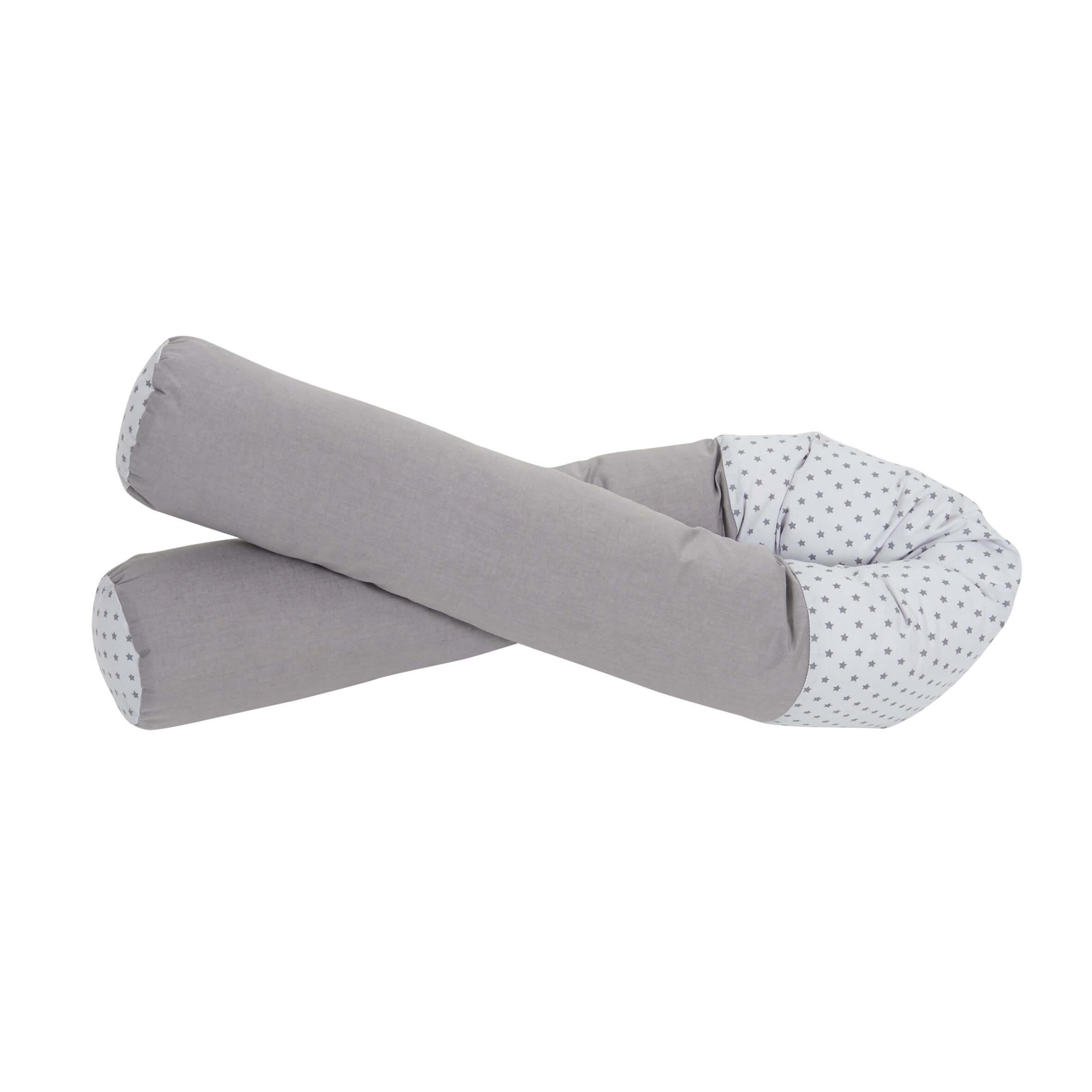 Tineo coussin de maternit/é gris imprim/é etoiles