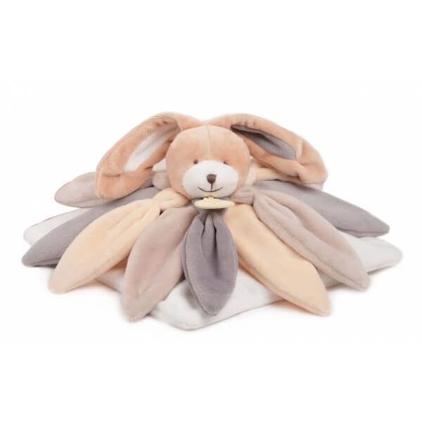 Doudou collector - lapin taupe