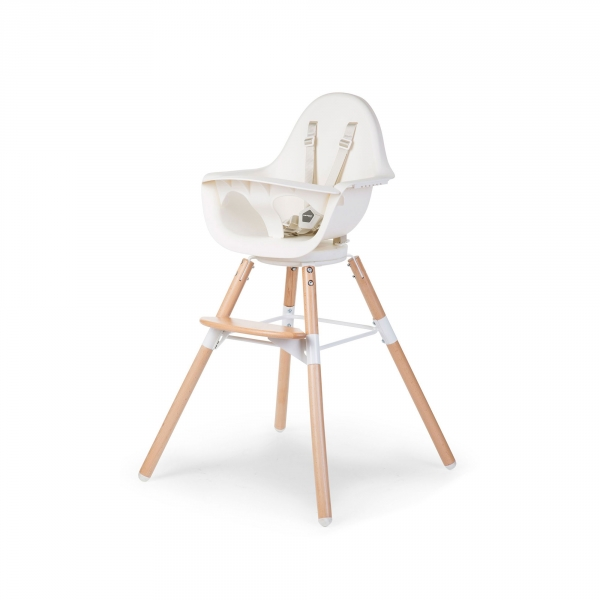 Chaise haute bébé Evolu One 80° de Child Wood