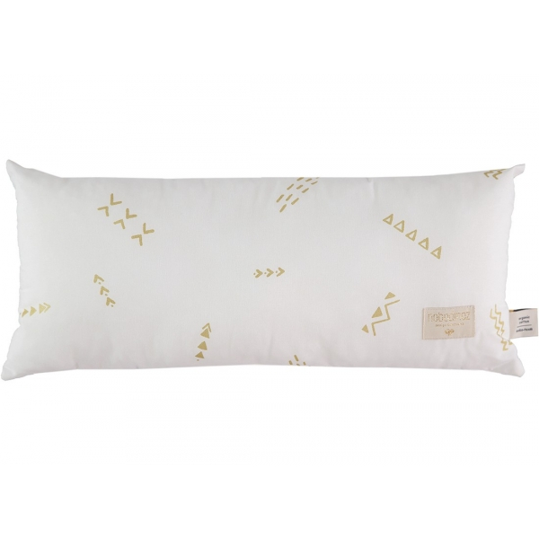 Coussin Hardy gold secrets / white