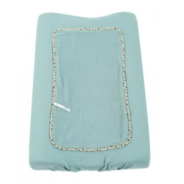 moulin roty housse matelas langer bleue les jolis trop beaux made in b b. Black Bedroom Furniture Sets. Home Design Ideas