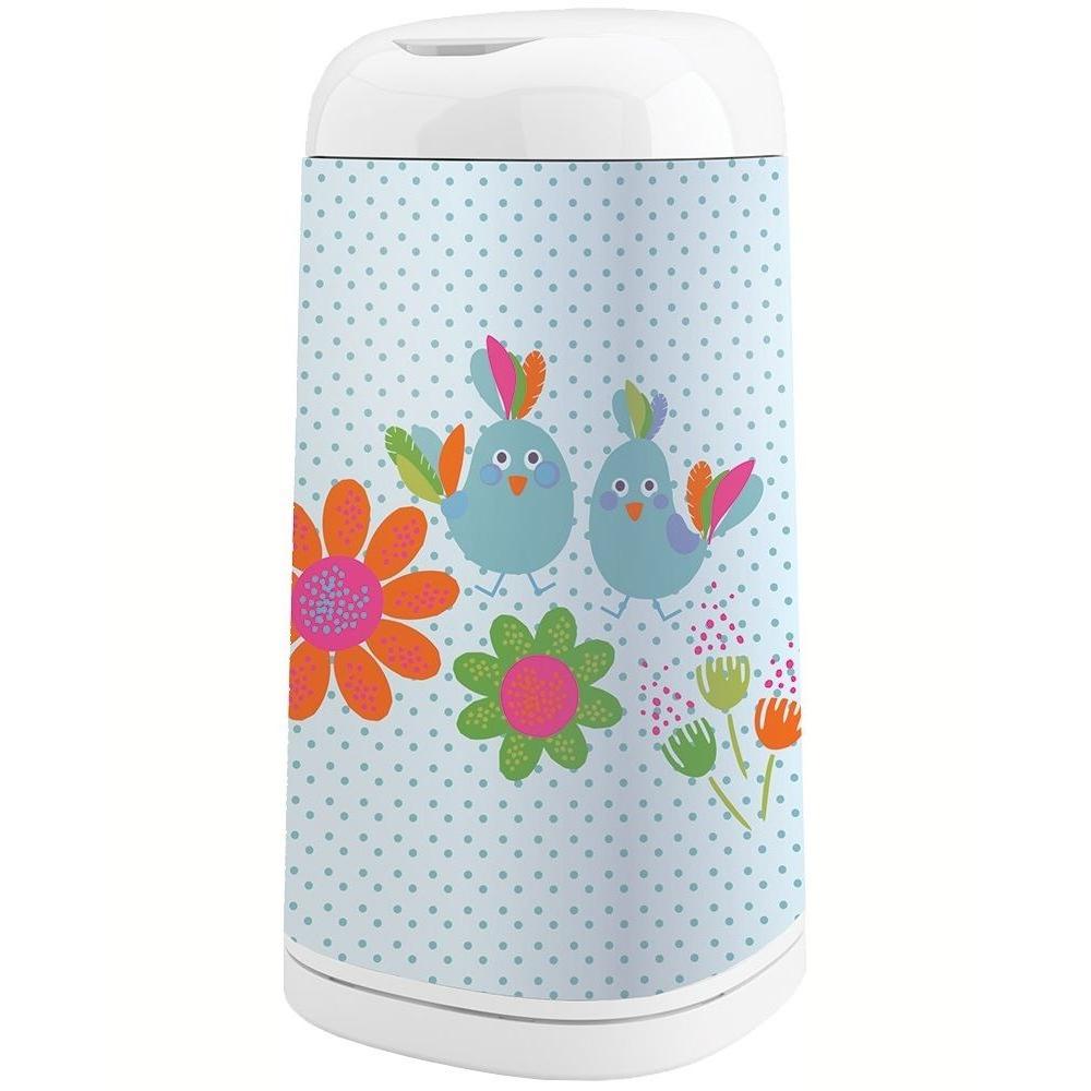 Angelcare Housse D/écorative pour poubelle /à couches Dress Up G/éom/étrie Multicolore