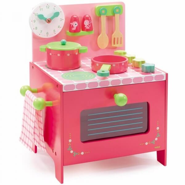 djeco cuisini re enfant lili rose made in b b. Black Bedroom Furniture Sets. Home Design Ideas