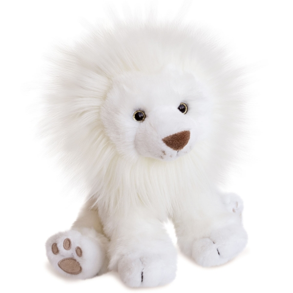 Peluche Lion des Neiges 28 cm