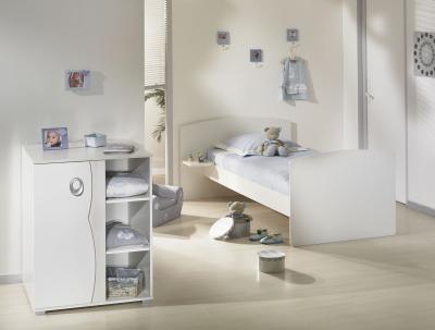 Sauthon d co lit chambre transformable 60x120 nevada made in b b - Lit chambre transformable ...