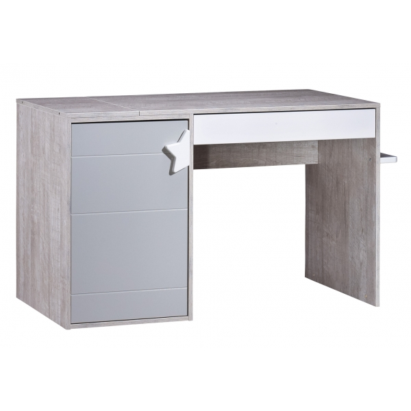 Sauthon meubles lit b b 70 x 140 cm volutif en 140 x 190 for Meuble bureau 140