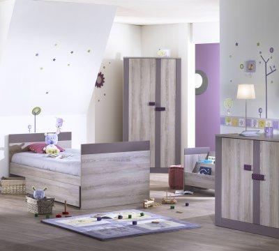 sauthon on line lit volutif 70x140 en 90x190 moka made in b b. Black Bedroom Furniture Sets. Home Design Ideas