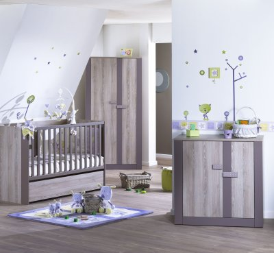 sauthon on line lit volutif 70x140 en 90x190 moka made. Black Bedroom Furniture Sets. Home Design Ideas