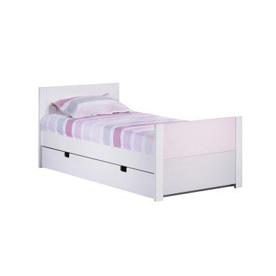 sauthon meubles lit junior 90x190 seaside made in b b. Black Bedroom Furniture Sets. Home Design Ideas