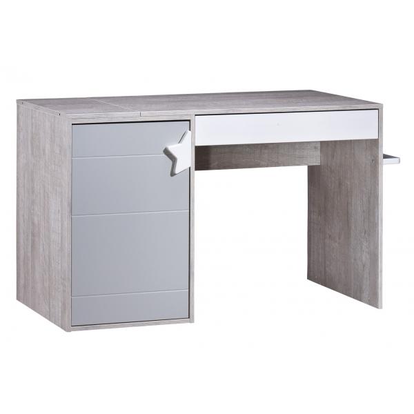 sauthon meubles chambre duo lit 70 x 140 cm commode langer volutive en bureau nova made. Black Bedroom Furniture Sets. Home Design Ideas