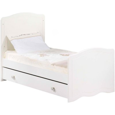 sauthon d233co little big bed 70x140 folio blanc sans d233cor