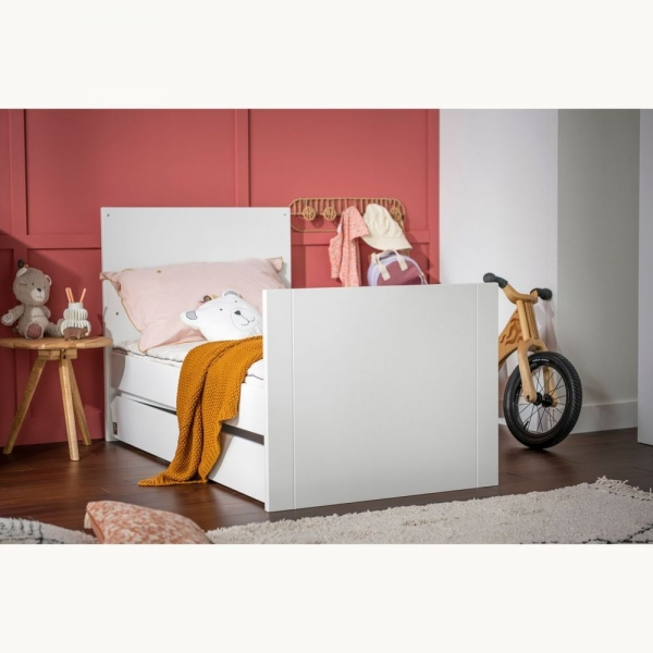 Lit transformable Little Big Bed 140 x 70 cm blanc Loft