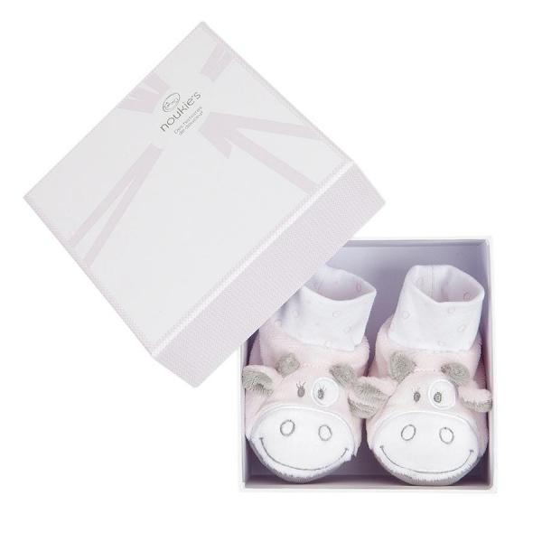 41ee08a2fa3d6 Noukie s Coffret cadeau bébé chaussons Lola - Made In Bébé