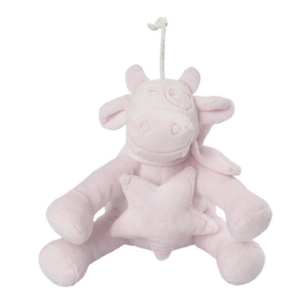Peluche musicale medium Lola rose cocon