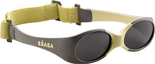 Beaba Lunettes Baby Soft Taupe Jaune - Made In Bébé 1fe3e28acef9