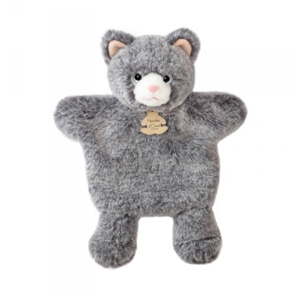 Doudou marionnette Mario sweety mousse Chat