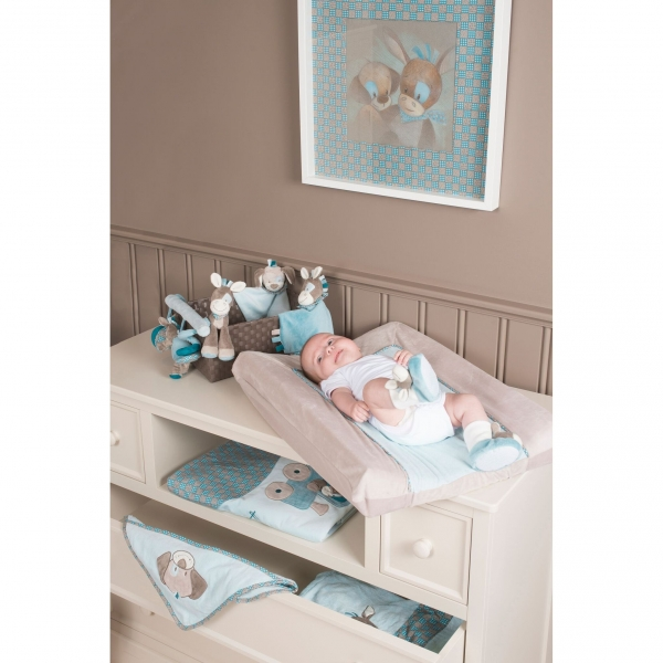 nattou matelas langer 60 x 65 cm gaston cyril made in b b. Black Bedroom Furniture Sets. Home Design Ideas
