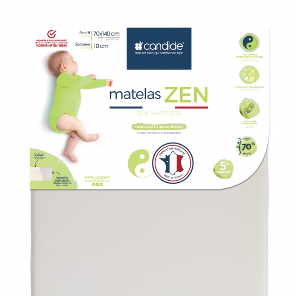 Bellemont Matelas Eco 60 X 120 Cm Made In Bebe