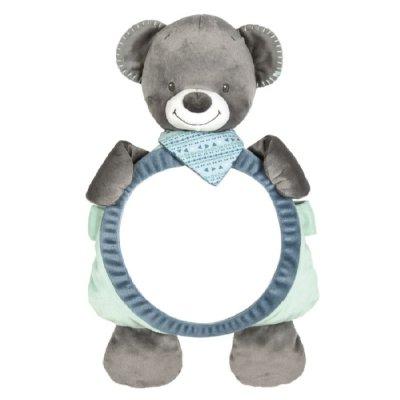 Nattou miroir pour voiture jules l 39 ours jack jules for Miroir voiture bebe